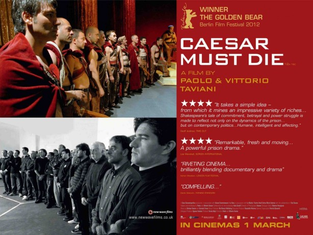 April 14th, Hudson Strode present *Caesar Must Die*