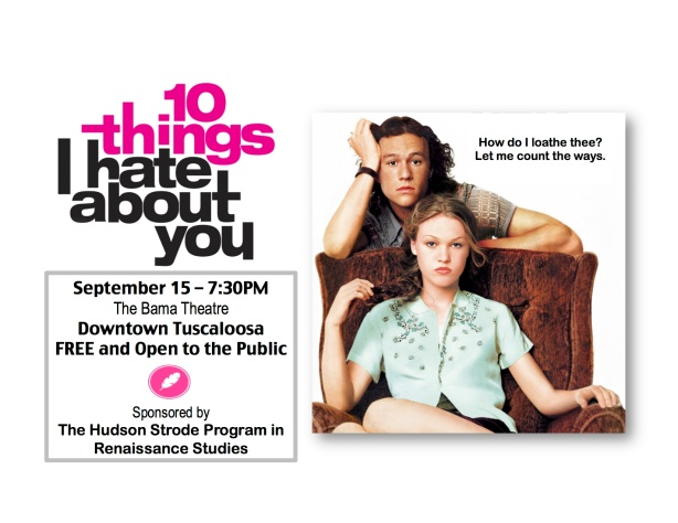 10 Things I Hate About You Movie Poster: Ten Things I Hate About You